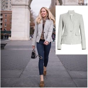 Veronica Beard Wool & Silk Farley Dickey Jacket